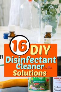 diy disinfectants