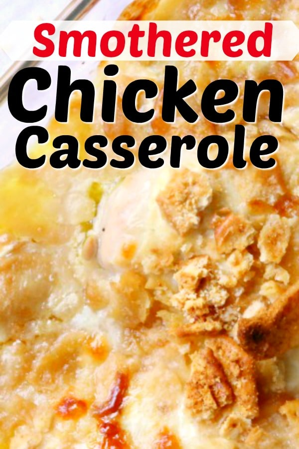 easy chicken casserole recipe