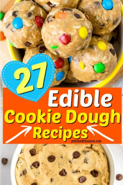 edible cookie dough recipes