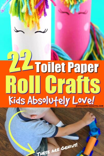 empty toilet paper roll crafts for kids