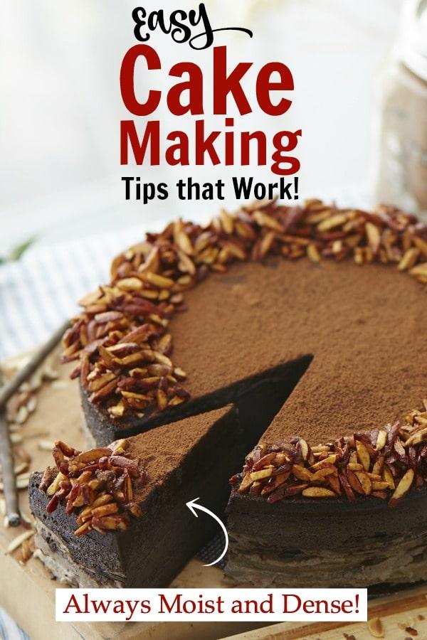 cake making tips