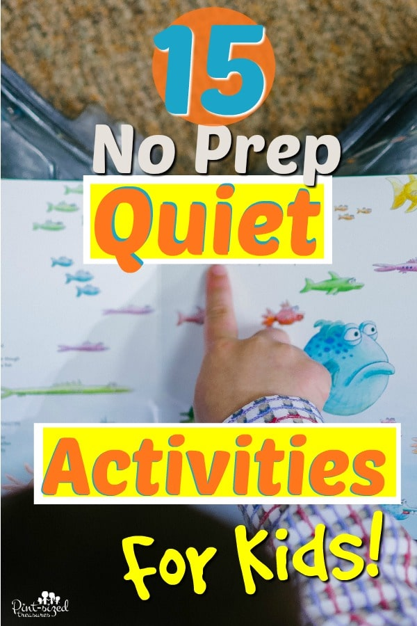 no prep quiet time activities