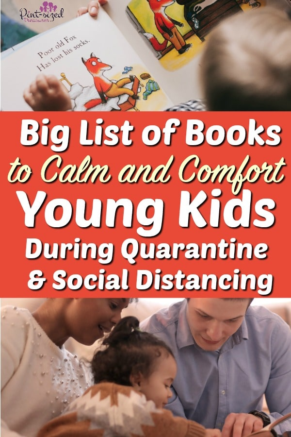 Big List of Books to Calm and Comfort Young Kids in Quarantine