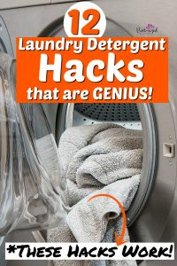laundry detergent uses and hacks