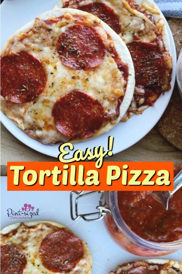 tortilla pizza recipe