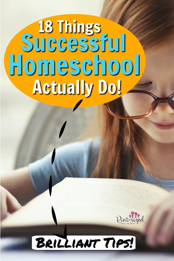 18 Things Successful Homeschool Moms Actually Do