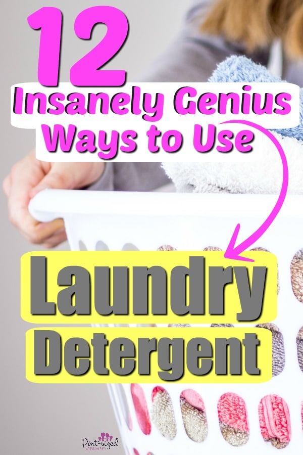 laundry detergent uses