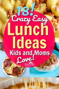 lunch ideas for kids and moms