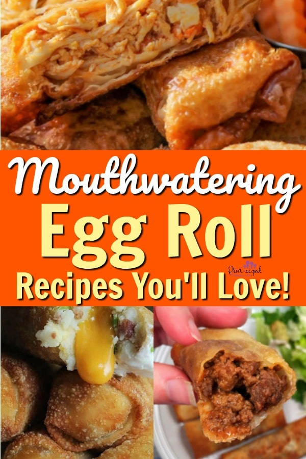 20 Egg Roll Recipes that are Mouth-watering Good!