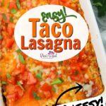 Easy Taco lasagna recipe