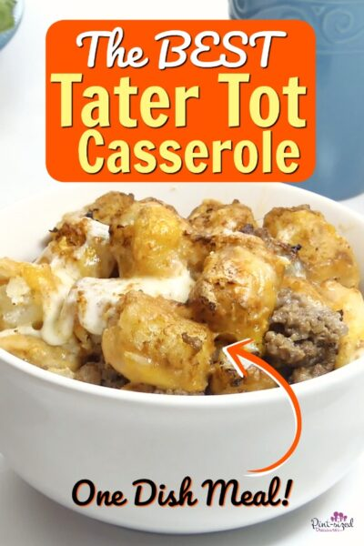 tater tot casserole that's the best