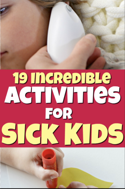 activities for sick kids