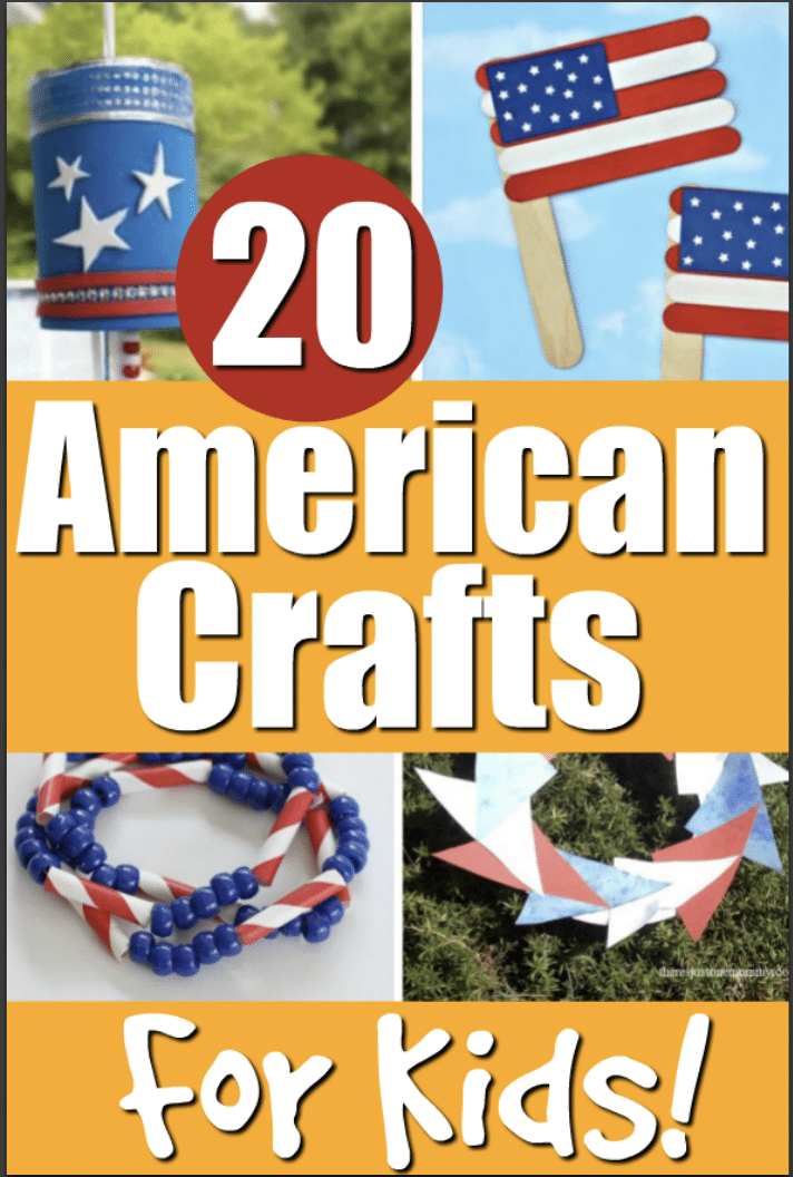 american craft ideas for kids