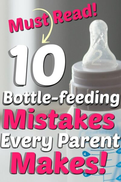 bottle feeding mistakes parents make