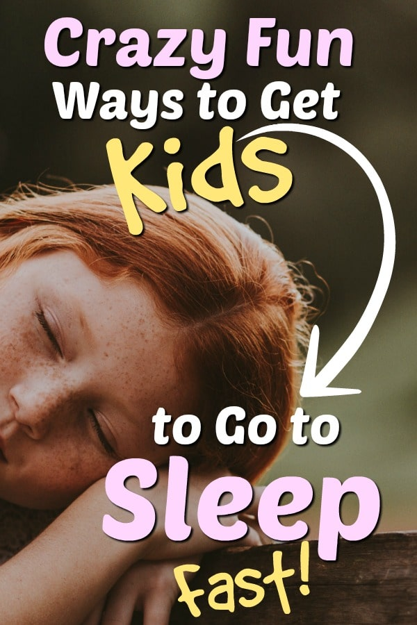 how to get kids to go to sleep fast