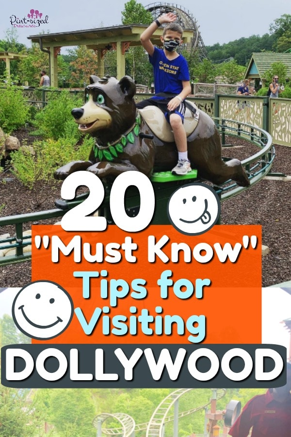 tips for visiting Dollywood