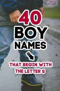 boy names that start with the letter S