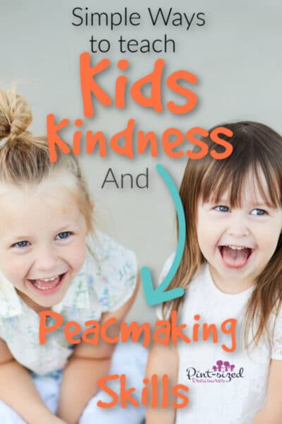 teach kids kindness and peacemaking