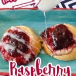 raspberry and cream cheese danish