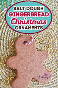 easy Christmas gingerbread men ornaments