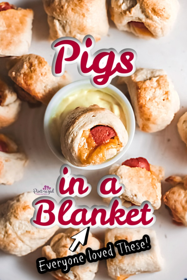 pigs in a blanket in dipping sauce