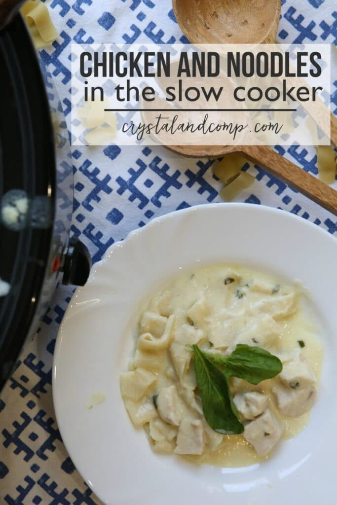 chicken noodle recipe in the crock pot
