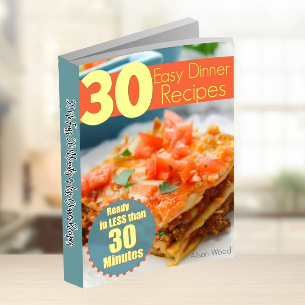 easy dinner recipes book