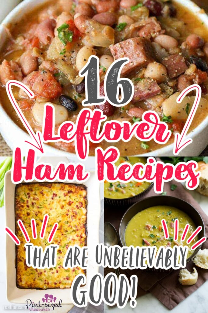 leftover ham recipes being served