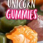 easy and healthy unicorn gummies