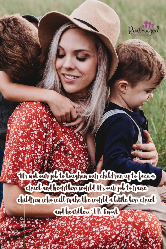 mom quote from L.R. Knost