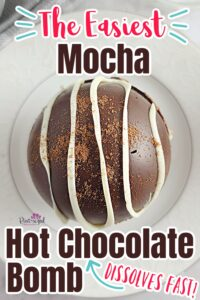 mocha hot chocolate bombs