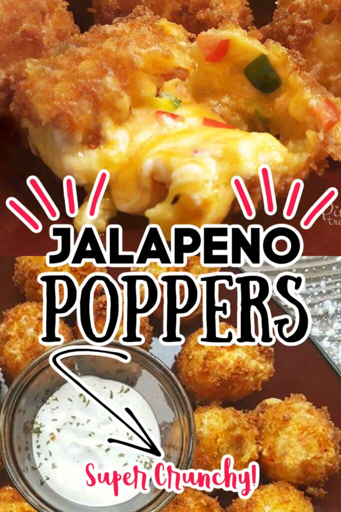 jalapeño poppers with dipping sauce