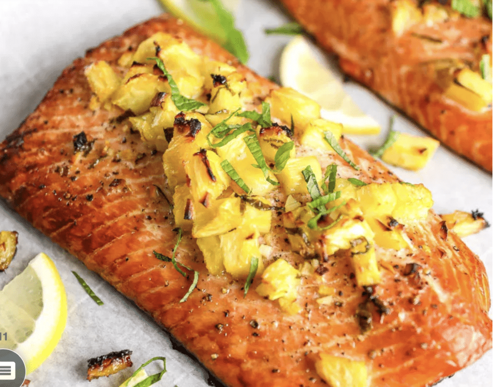 my favorite grilled salmon recipe