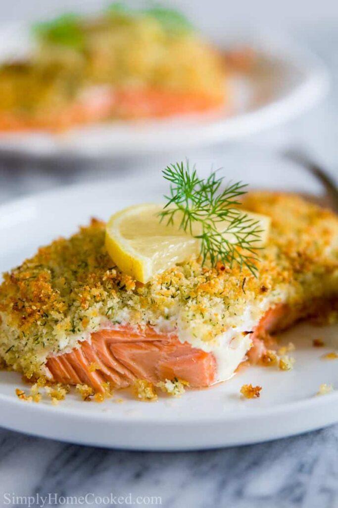 breaded salmon recipe