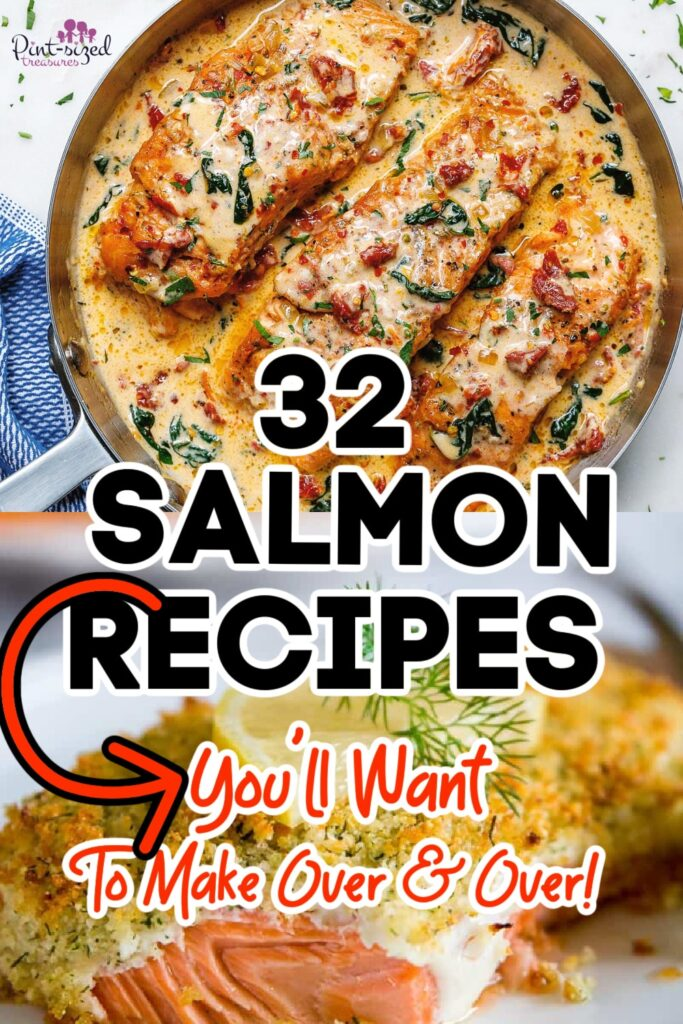 32 Salmon Recipes You'll Want to Make Every Week!