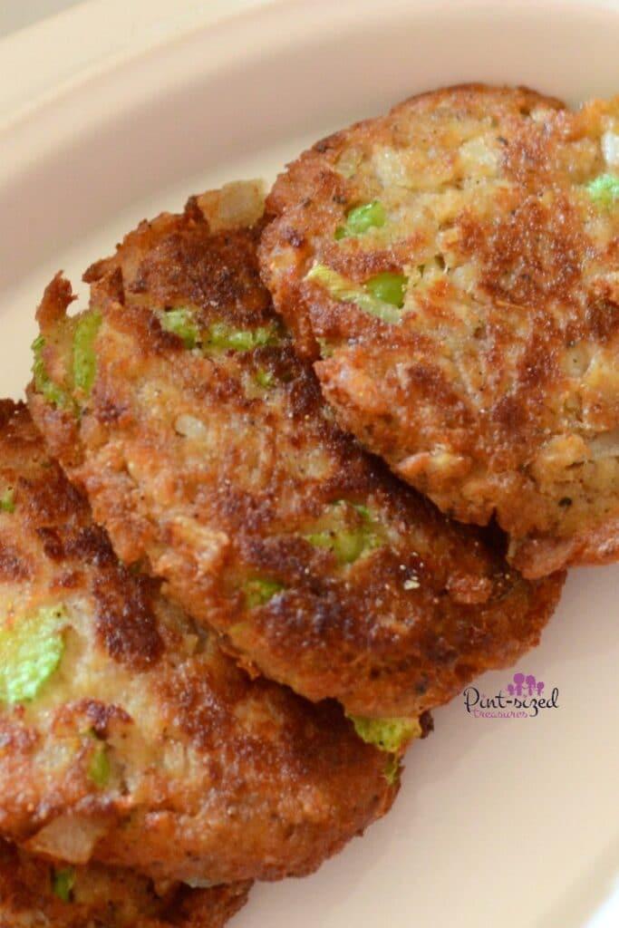 spicy salmon patties recipe