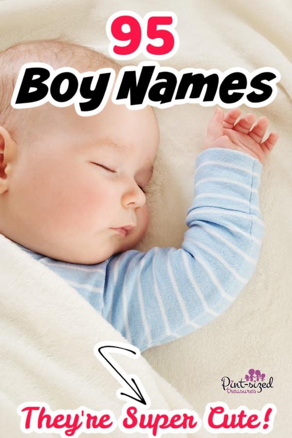 cute boy names