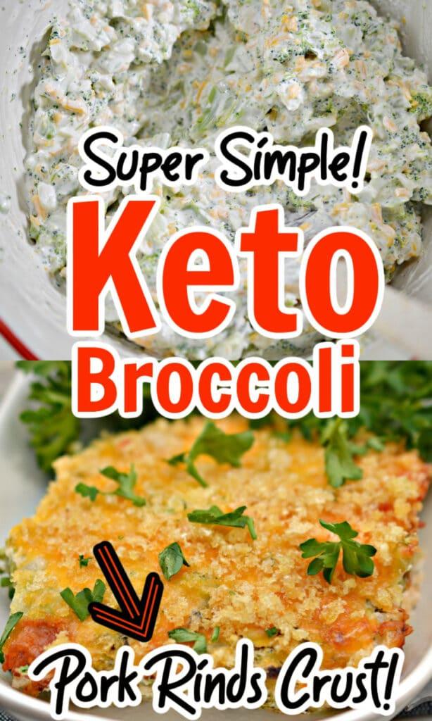 Keto Cheesy Broccoli Casserole