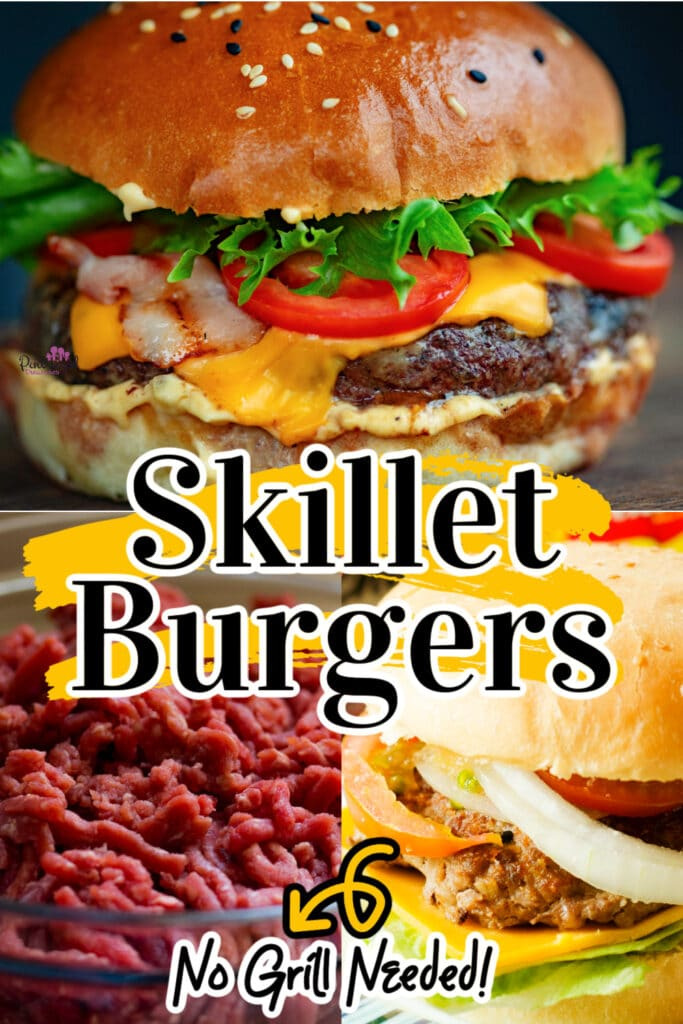 skillet burger recipe