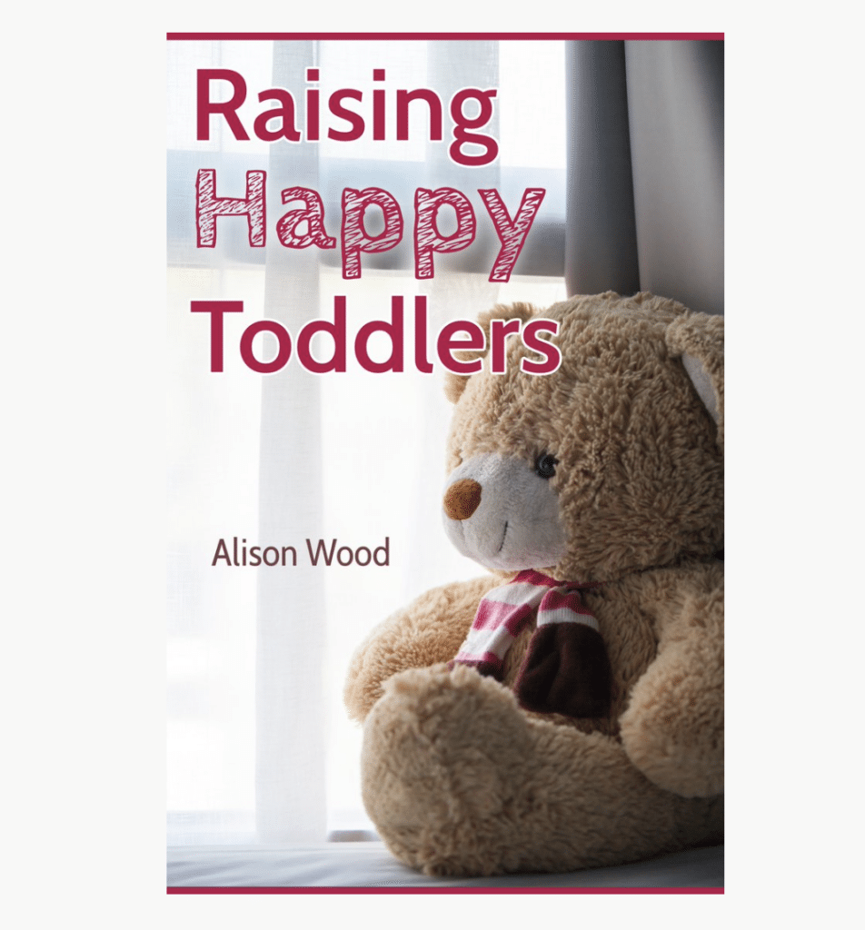 picture of a book about learning how to raise toddlers