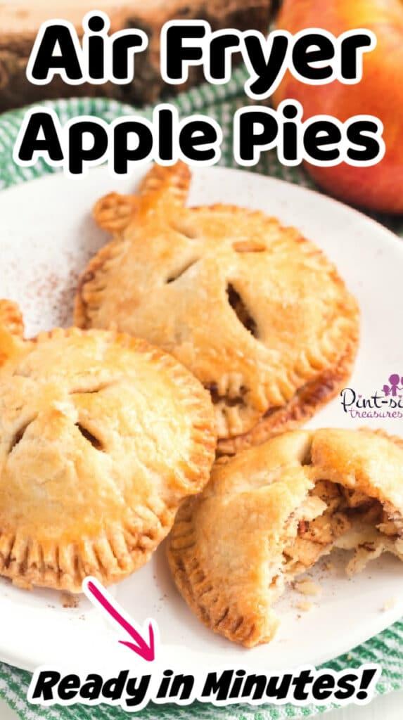 air fryer apple pie recipe