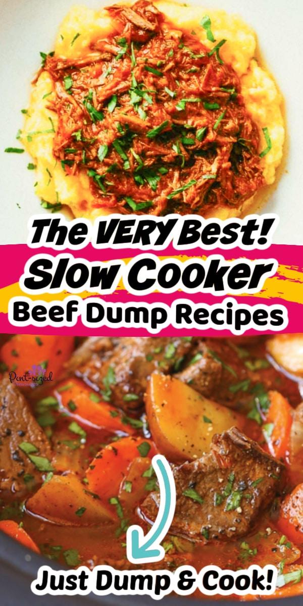 slow cooker beef dump recipes