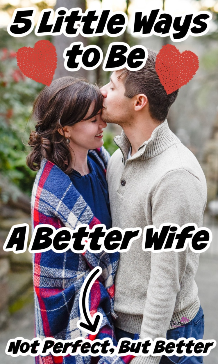 a wife trying to be a better wife