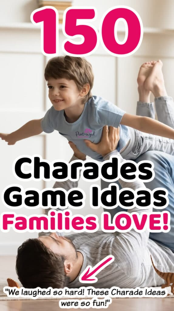 charade game ideas