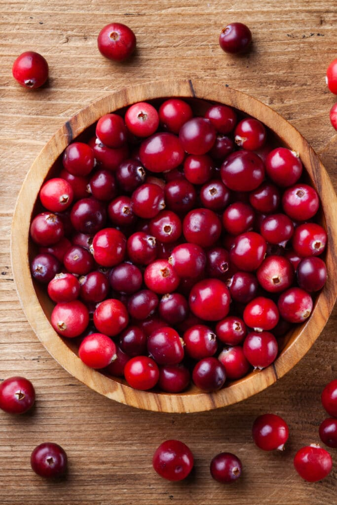 cranberries for granola bars