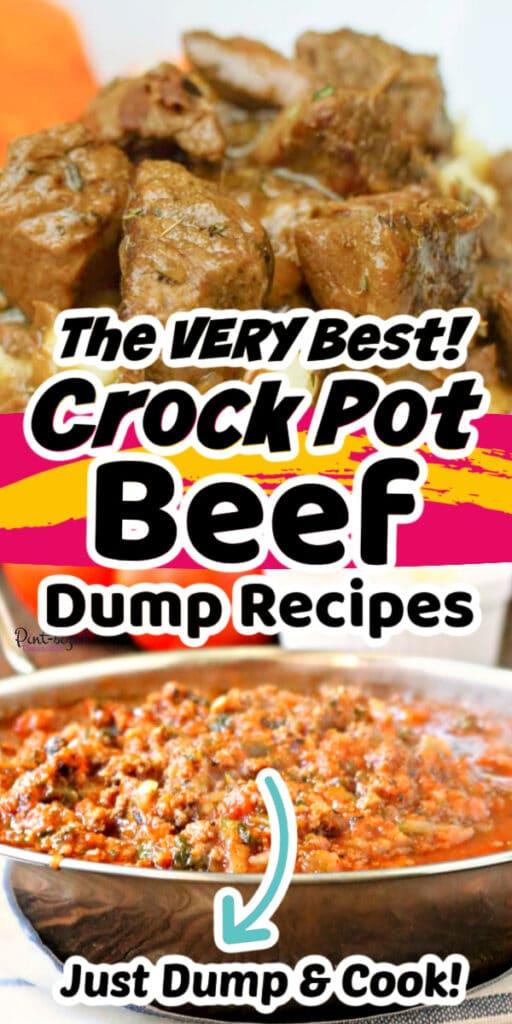 beef dump crock pot recipes