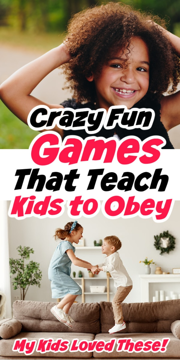 kids playing games that teach kids obedience