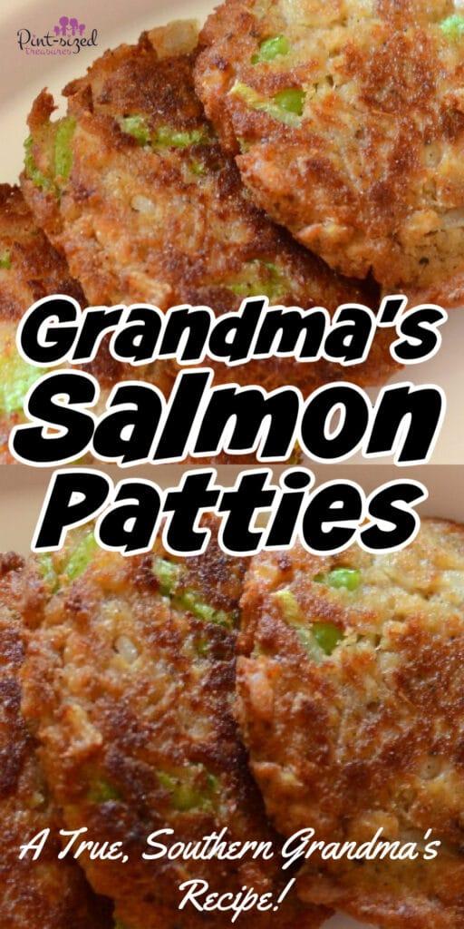 grandma's salmon patties recipe