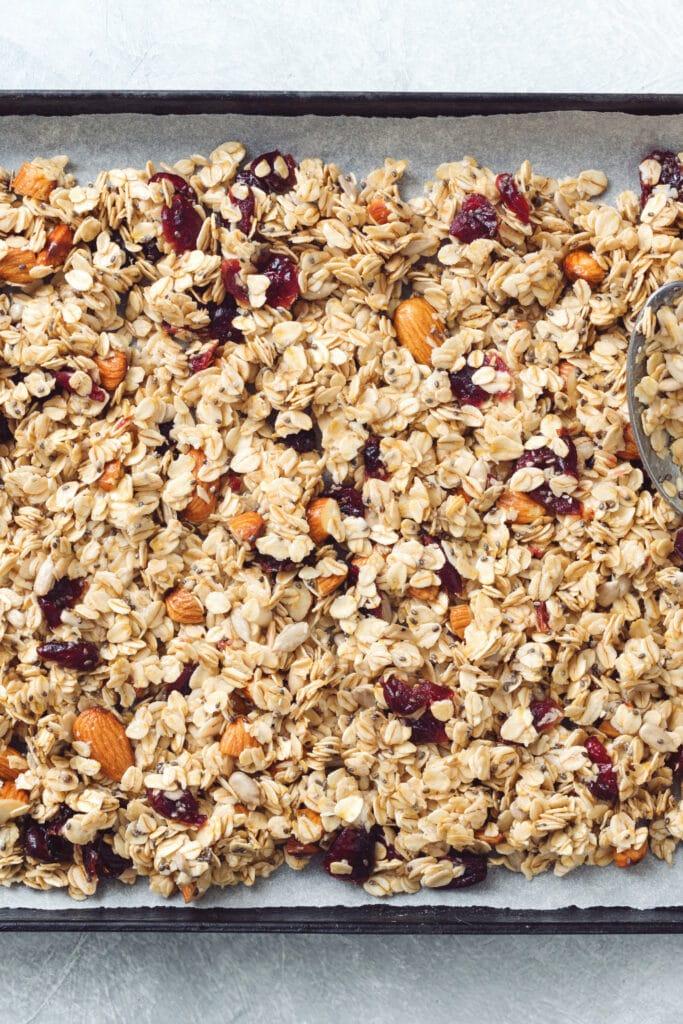 granola for granola bars
