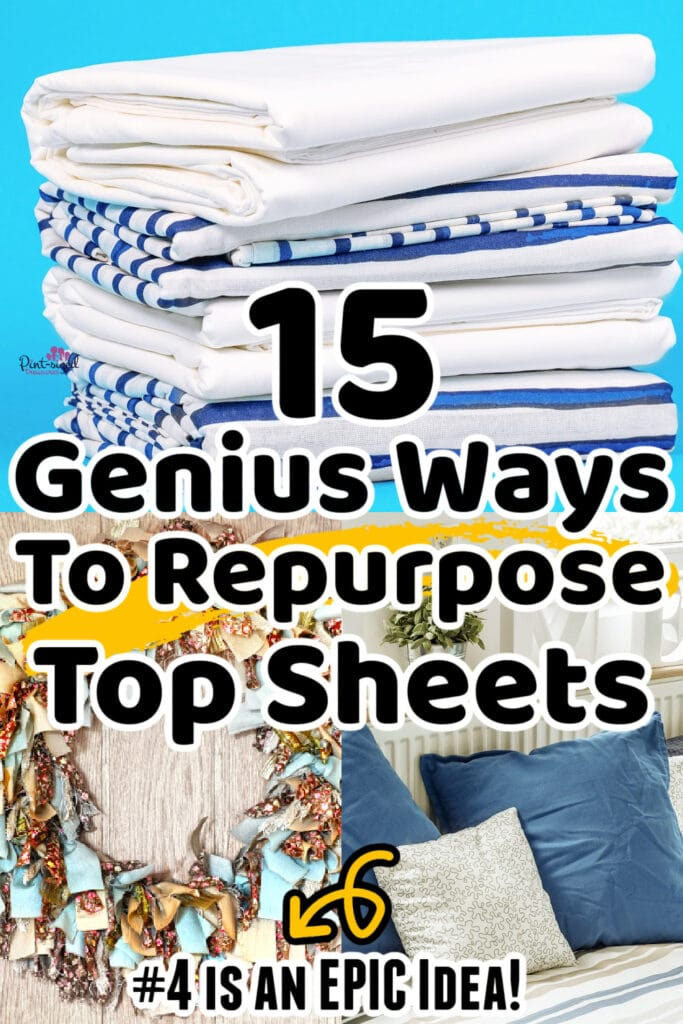 how to repurpose top sheets